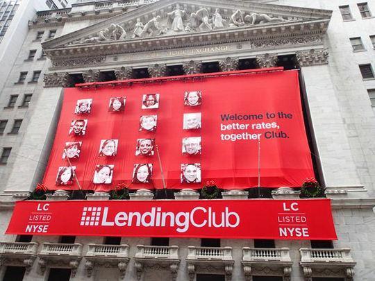 Lending Club股价再创历史新低,百亿市值跌去九成