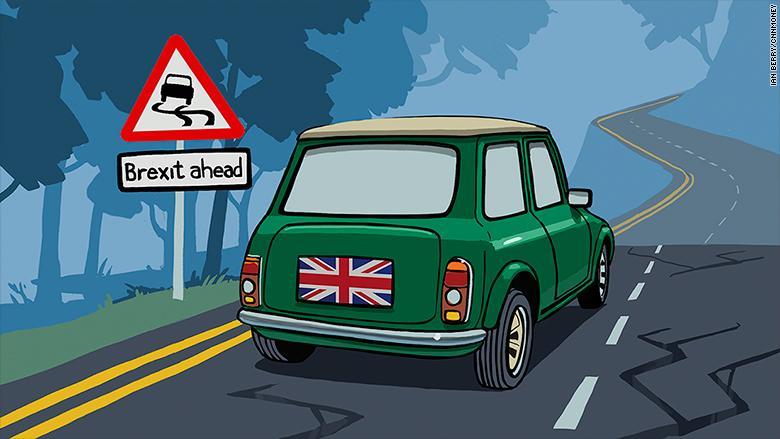 英国脱欧或致汽车业乱象,车企呼吁尽快明确规定
