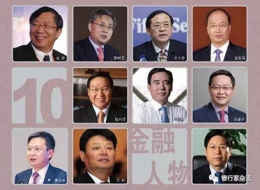 2018十大金融人物