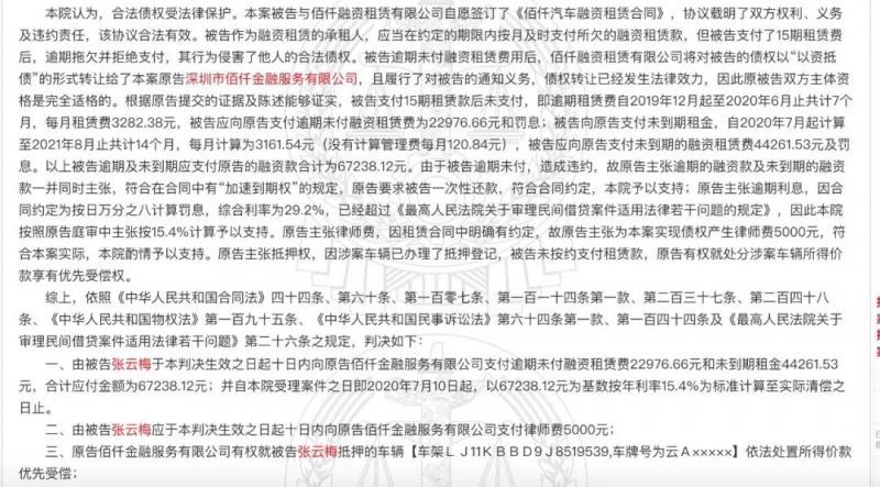 15.4%已渗透至融资租赁,佰仟中招!